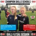 Girls Futsal Sessions - Autumn 2021