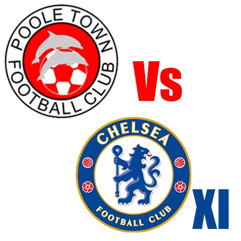 Poole Town FC v Chelsea 11